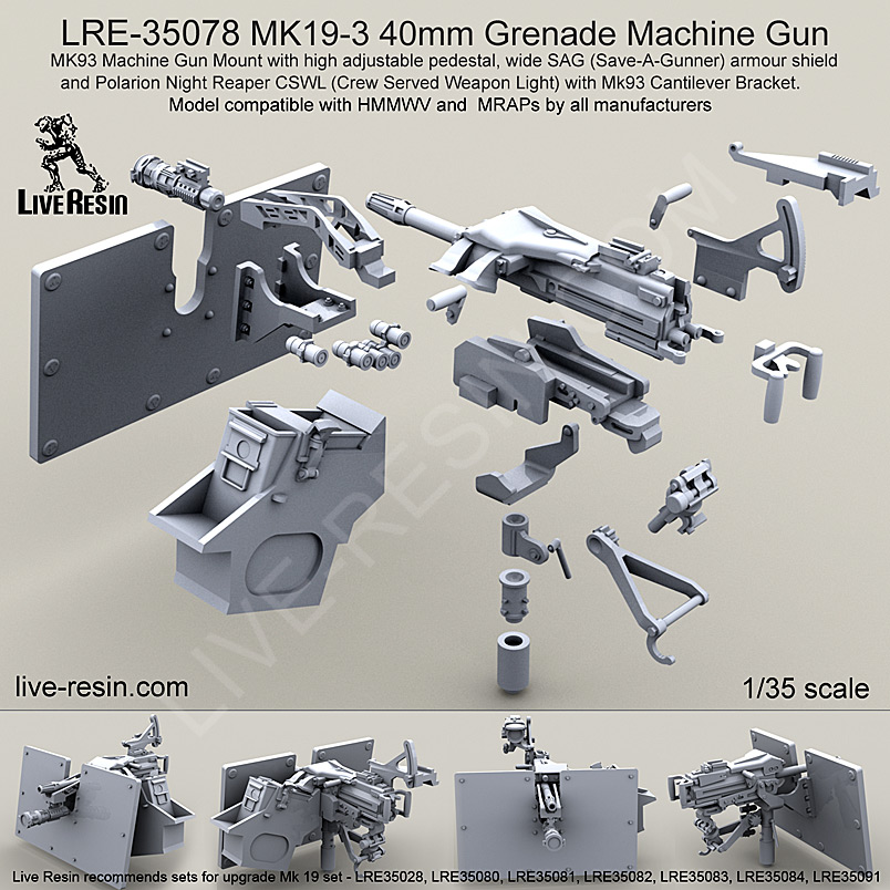 Live Resin 135th Vehicle Weapons Add Ons Lre35078 Accurate